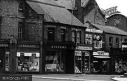 Wisbech, Bridge Street Shops c.1955