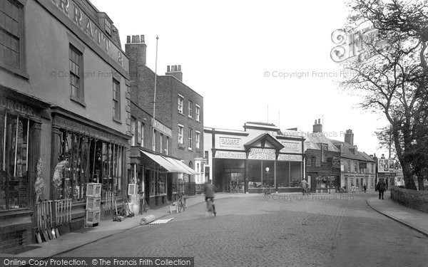 Photo of Wisbech, Church Street 1923