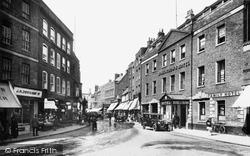 Wisbech, High Street 1929