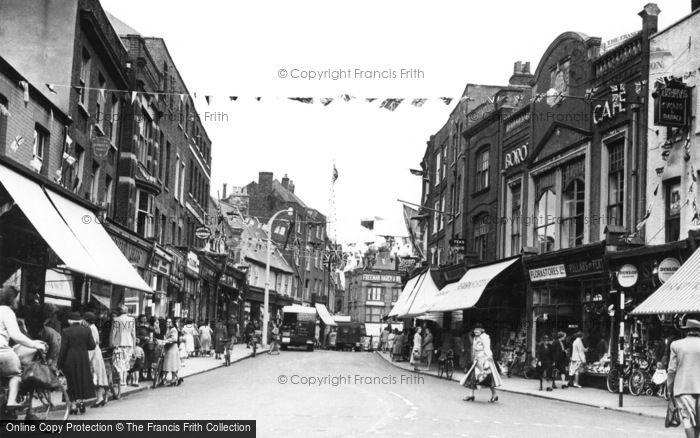 Photo of Wisbech, High Street c.1953