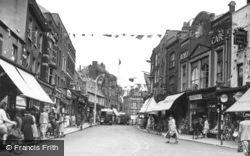 Wisbech, High Street c.1953