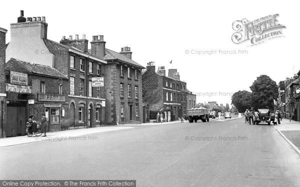 Photo of Wisbech, Lynn Road c.1955