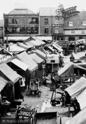 Wisbech, Market Place 1901