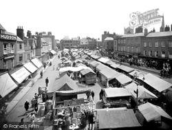 Wisbech, Market Place 1929