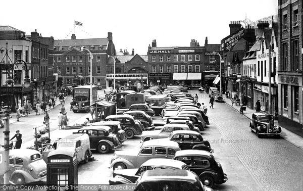 Photo of Wisbech, Market Place 1951