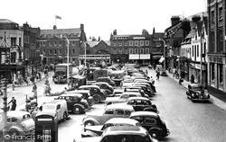 Wisbech, Market Place 1951