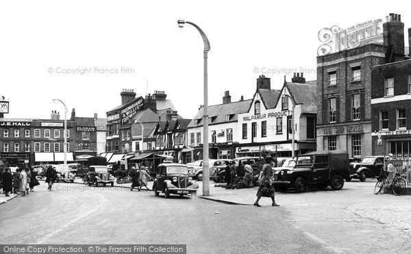 Photo of Wisbech, Market Place c.1955
