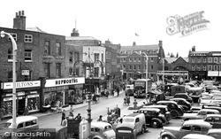 Wisbech, Market Place c.1955