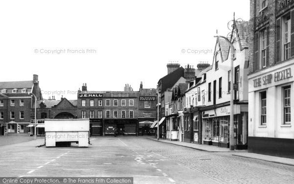 Photo of Wisbech, Market Place c.1955