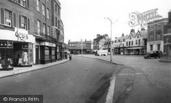 Market Place c.1955, Wisbech