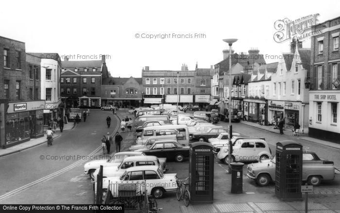 Photo of Wisbech, Market Place c.1965
