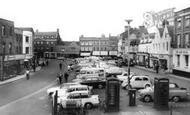 Wisbech, Market Place c1965
