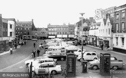 Wisbech, Market Place c.1965