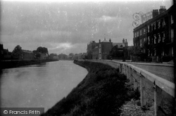 Wisbech, North Brink 1923
