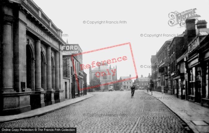 Photo of Wisbech, Old Market Street 1923
