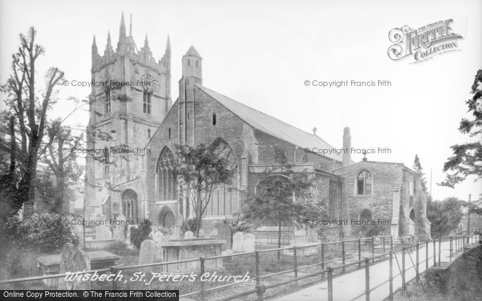 Photo of Wisbech, Parish Church 1923
