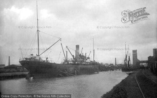 Photo of Wisbech, River Nene 1923