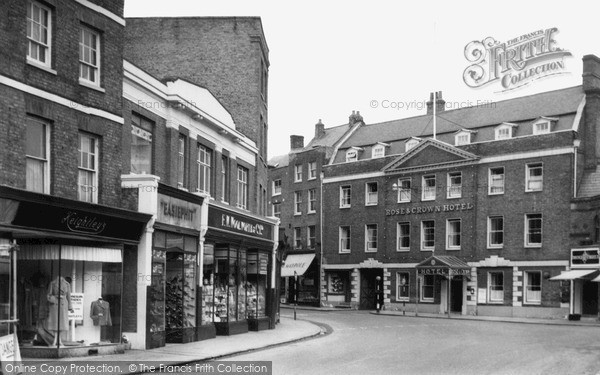 Photo of Wisbech, Rose And Crown Hotel c.1955