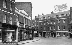 Wisbech, Rose And Crown Hotel c.1955