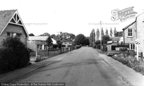 Photo of Wisbech St Mary, Church Road c.1960