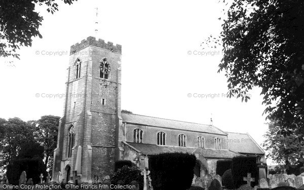 Photo of Wisbech St Mary, St Mary's Church c.1960