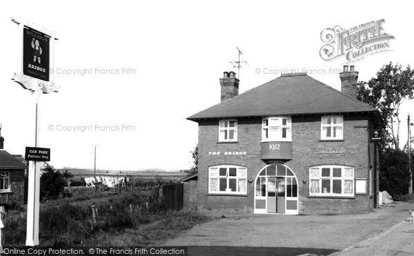 Photo of Wisbech St Mary, The Bridge Inn c.1960