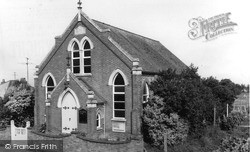 Wisbech St Mary, The Methodist Church c.1960