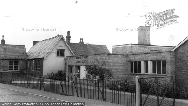 Photo of Wisbech St Mary, The School c.1960