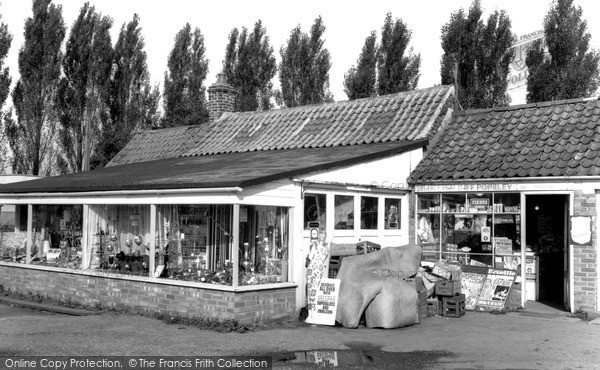 Photo of Wisbech St Mary, the Stores c1960