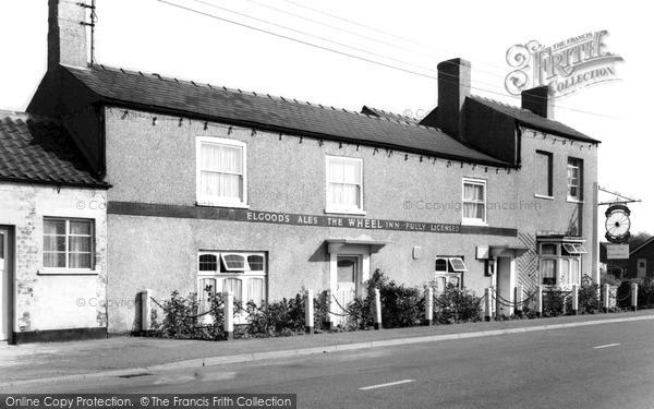 Photo of Wisbech St Mary, The Wheel Inn c.1960