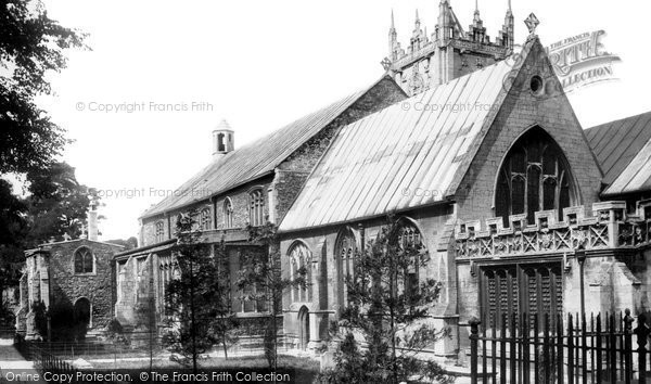 Photo of Wisbech, St Peter And St Paul's Church 1901