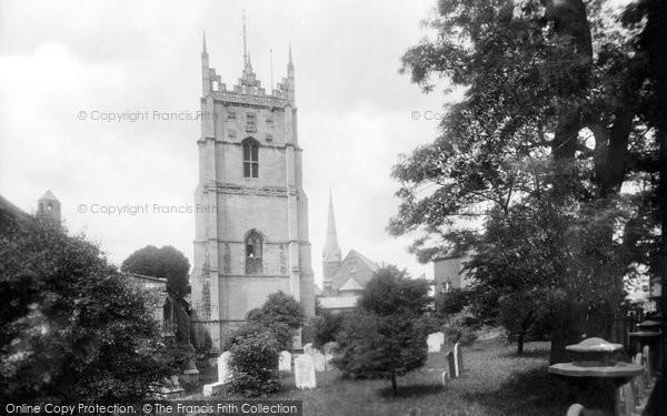 Photo of Wisbech, St Peter's Church 1929