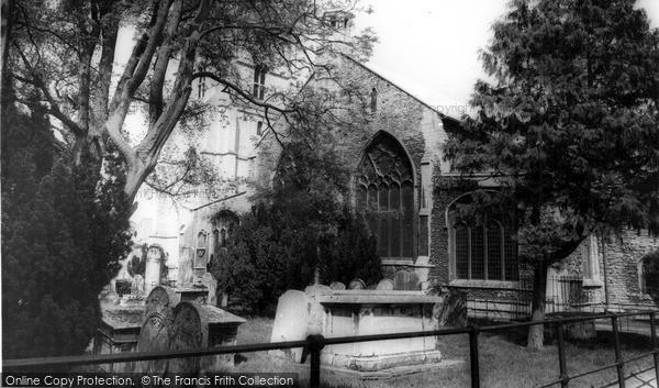 Photo of Wisbech, St Peter's Church c.1965