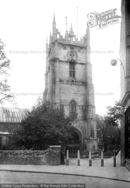 Photo of Wisbech, St Peter's Church Tower 1923