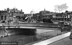 Wisbech, The Bridge c.1955