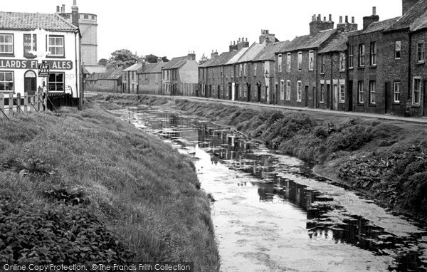 Photo of Wisbech, The Canal c.1955