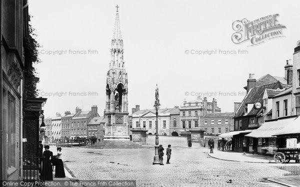 Photo of Wisbech, The Clarkson Memorial 1901