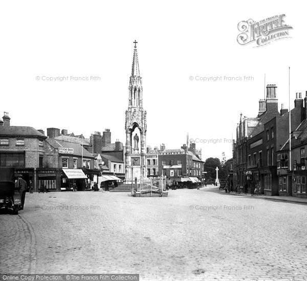 Photo of Wisbech, The Clarkson Memorial 1923