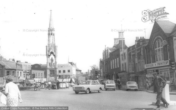 Photo of Wisbech, The Clarkson Memorial, Bridge Street c.1965