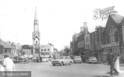 Wisbech, The Clarkson Memorial, Bridge Street c.1965