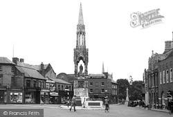 Wisbech, The Clarkson Memorial c.1955