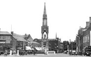 Wisbech, the Clarkson Memorial c1955