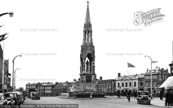 Photo of Wisbech, The Clarkson Memorial c.1955