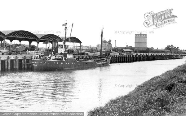 Photo of Wisbech, the Docks and Timber Yards c1955