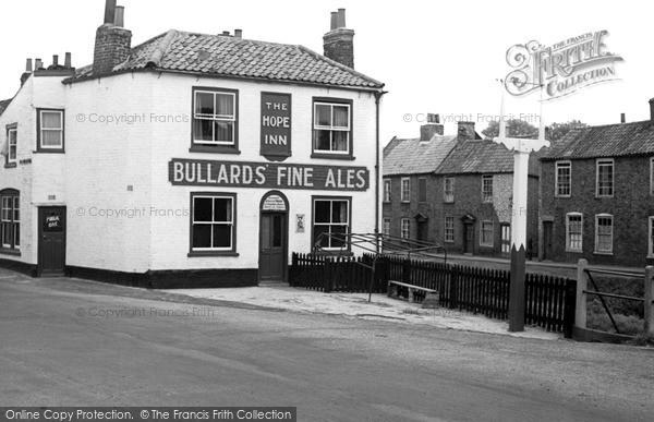 Photo of Wisbech, the Hope Inn c1955