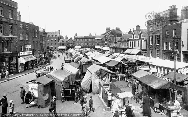 Photo of Wisbech, The Market Place 1929