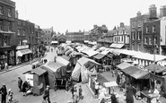 Wisbech, the Market Place 1929