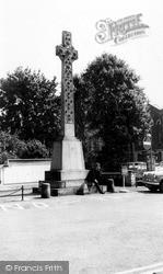 Wisbech, The Memorial c.1965