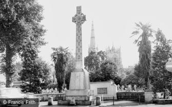 Wisbech, the Memorial c1965
