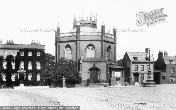 Photo of Wisbech, The Octagon Church 1901